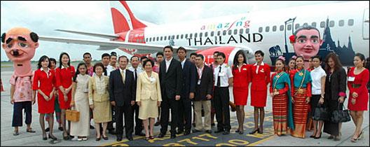 Image: Thai AirAsia recommence daily flights between Bangkok (BKK) and Nakhon Si Thammarat (NST).
