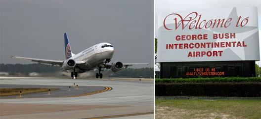 Image: Continental begin seasonal service between Houston International (IAH) and Rio De Janeiro (GIG) this week
