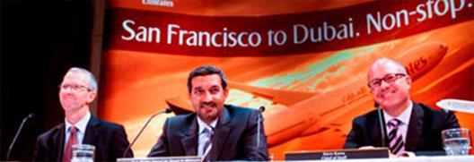 Image: Sanfrancisco to dubai news conference