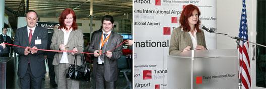 Image: Belle Air route launch