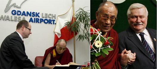 Image: Dalai Lama in Gdansk