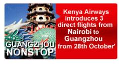 Ad: Kenya Airways