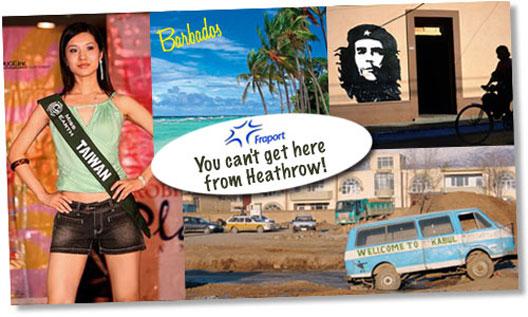 Image: Fraport Destinations Postcard