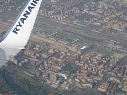 Image: Ryanair over Turin