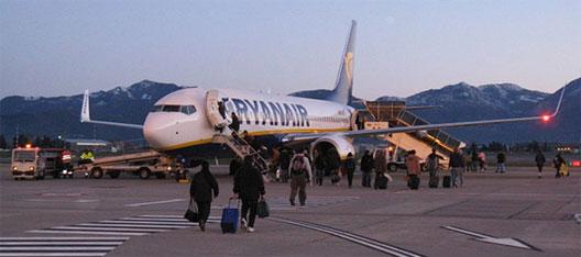 Image: Ryanair boarding