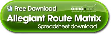 DOWNLOAD Allegiant Route Matrix spreadsheet