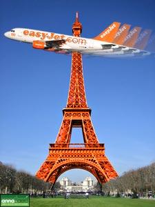 Image: easyJet in Paris