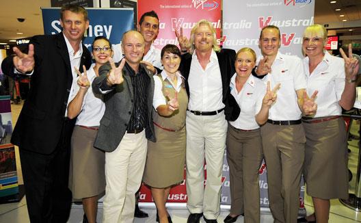 Image: V Australia Launch