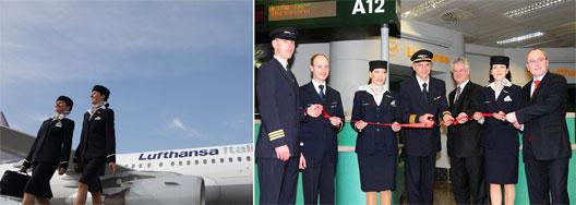 Image: Route of the Week - Lufthansa Italia