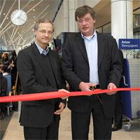 Image: Copenhagen CEO Brian Petersen and transavia.com EVP & CCO Willem Hondius