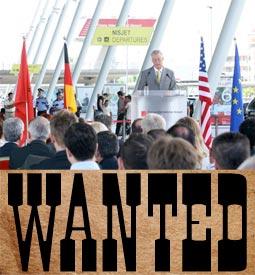 Image: Wanted: Tirana Airport