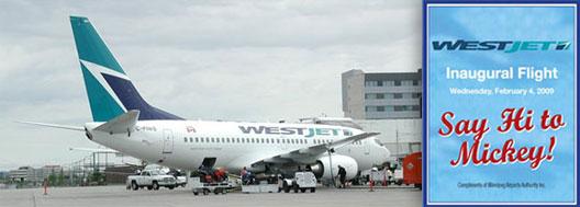 Image: Westjet Route Launch