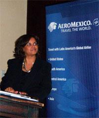 Image: AeroMexico Minny Morel