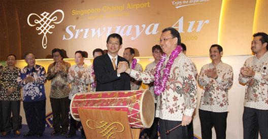 Image: Sriwijaya Air ceremony