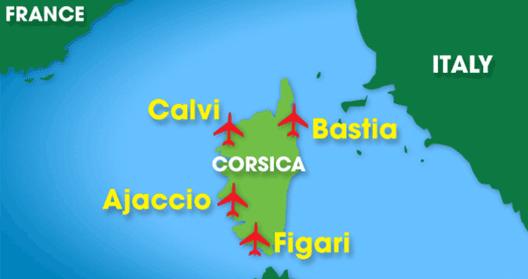 Map: Corsica
