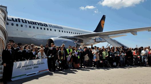 Image: Lufthansa route launch