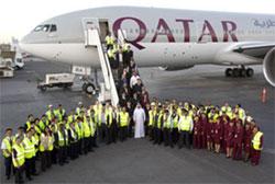 Image: Qatar Airways route launch