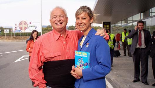 Image: Edward Wilson, Ryanair's Director of Personnel at Reus