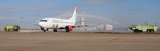 Image: Vivaaerobus route launch