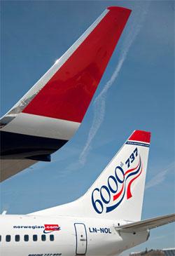 Image: Boeing tail