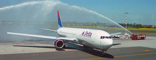 Image: Delta route launch