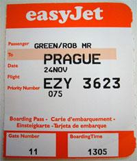 image: easyjet ticket