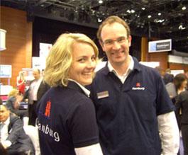 Image: Hamburg Airport's award-winning aviation marketing team