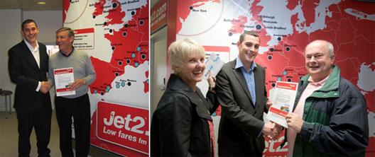 Image: Jet2 route launch