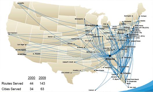 Image: Atlanta routes