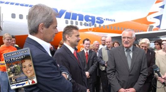 Image: Czech President Václav Klaus (right)