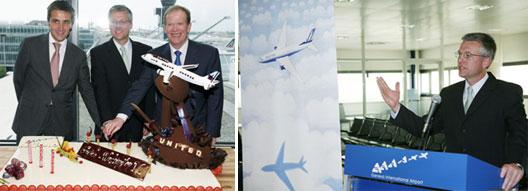 Image: United Airlines at Geneva