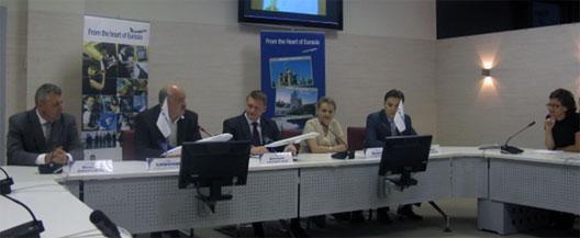 Image: Air Astana press conference