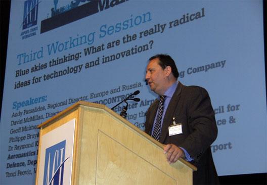 Image: Boeing's Andy Patsalides