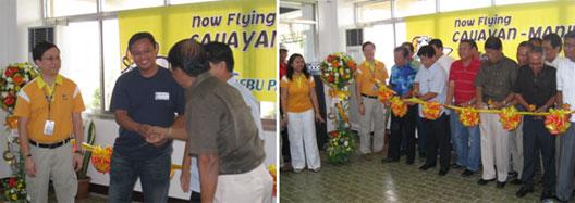 Image: Cebu's Manila-Cauayan launch