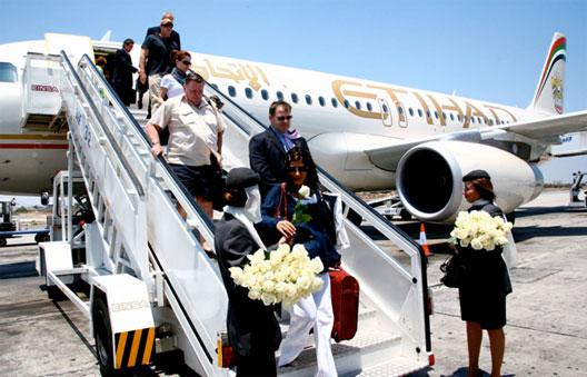 Image: Arrival at Larnaca – Etihad's 12th European destination from Abu Dhabi.