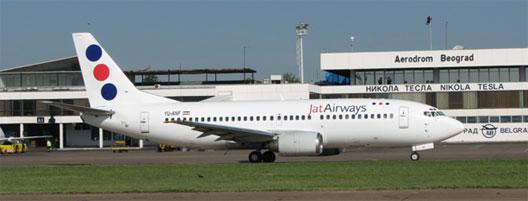 Image: JAT Airways plane