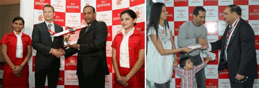 Image: Kingfisher Bangalore to Dubai