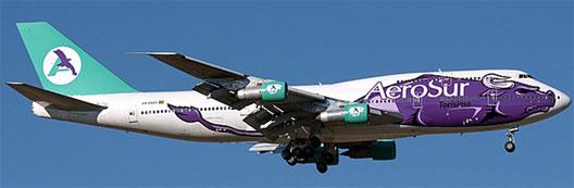 Image: AeroSur Plane