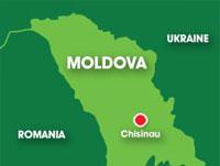 Map: Moldova