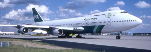 Image: Pakistan International Airlines plane