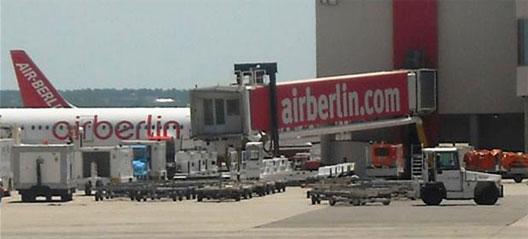 Image: Air Berlin has dedicated facilities at PMI