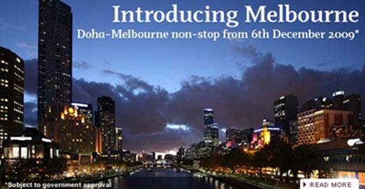 Image: Doha Melbourne ad