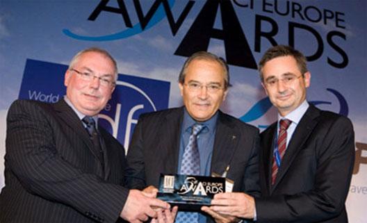 Image: Palma de Mallorca takes Best Airport Award at ACI EUROPE Awards, Manchester June 2009