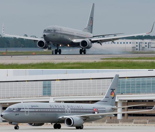 Image: Alaska Airlines Planes