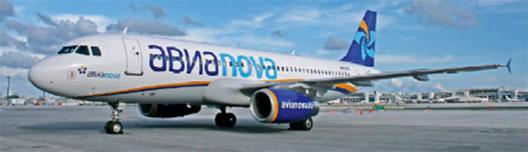 Image: Avianova plane