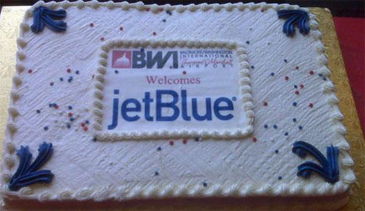 Image: jetBlue Cake