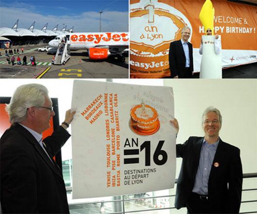 Image: easyJet at Lyon