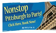 Ad: Pittsburgh to Paris