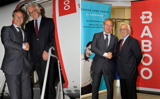 Image: New partnership between Air France's CityJet and Baboo