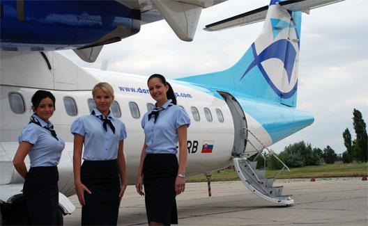 Image: Danube Wings Stewardesses